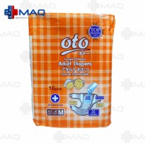 Lampin Dewasa Oto / Adult Diapers Oto Size M - 10 pieces