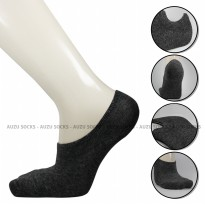 Hidden Sock Pria Premium - Invisible Socks - No Show Socks - Cotton High quality