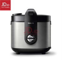 PHILIPS Rice Cooker 2 L New Stainless HD3128