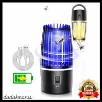Pembasmi Nyamuk Mosquito Lamp Zapper UV Light USB PER-1107