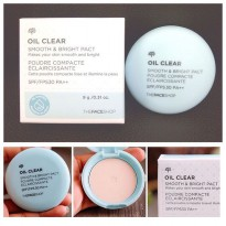 Face Shop Oil Clear Smoot & Bright Pact