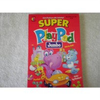 [poledit] Platmore Publishers Super PlayPad Activity Book ~ Dino & Bear Cover 2009 (T1)/11971017