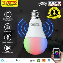 VETTO Smart Light Bulb 7W RGBWW - Wifi Wireless IoT Home Automation