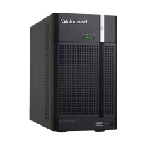Infortrend EonNAS Pro 200 2-Bay NAS Server External Storage