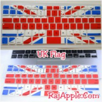 Silicone Keyboard Protector / Cover UK FLAG for Macbook 13' & 15'