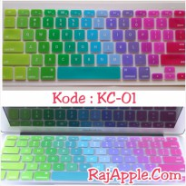Silicone Keyboard Protector / Cover MIXED COLOR for Macbook 13' & 15'