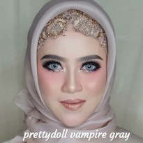 New Softlens Special For Mua Prettydoll Vampire Twilight Gray (Abu-Abu) -Original 100%-Terlaris