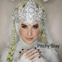New Softlens Pengantin Mua Sweety Pitchy Gray (Abu-Abu) -Original 100%-Terlaris