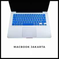 Keyboard Protector Macbook Pro 15 Inch Electric Blue