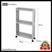 Rak Laci Tingkat Dapur Kitchen Storage Rack PER-1214