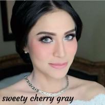 New Softlens Pengantin Sweety Cherry Gray - Special Mua -Original 100%-Terlaris