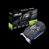 ASUS GT 1030 Phoenix 2GB DDR5 OC - Single Fan - RESMI 3 Tahun