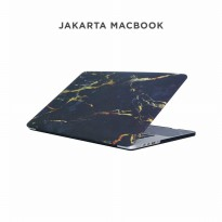 Case Macbook Pro Retina 15 Inch Black Yellow Marble