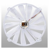 Xigmatek CLF-F2005 20CM LED Fan, 3-pin (Transparent Blades, Purple LED