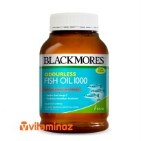Blackmores Odourless Fish Oil 1000 mg 400 Kapsul (BPOM Kalbe)
