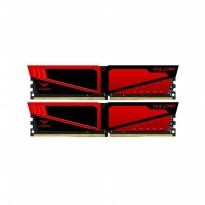 Team T-Force Vulcan RED DDR4 PC19200 2400Mhz Dual Channel 16GB (2x8GB)