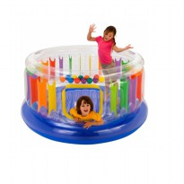 Intex - Kolam Bermain Anak Jump-O-Lene Transparent Ring Bounce 48264