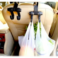 Gantungan Barang Mobil Car Seat Headrest Hanger Hook Holder Organizer