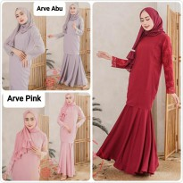 Dress Muslim Gamis Modis Arve lp