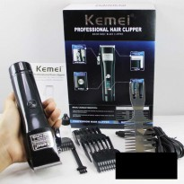 Clipper Kemei KM PG LED Display Alat Cukur Rambut Cukuran
