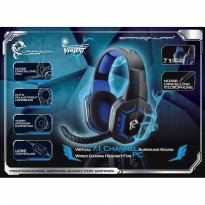 Headset Gaming Elephant Dragonwar Violent 7.1 Surround