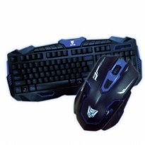 Paket Keyboard + Mouse Wireless Rexus Warfaction 2 / VR 2