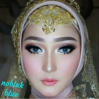 New Softlens Pengantin Nobluk Blue (Biru) - Special For Mua -Original 100%-Terlaris