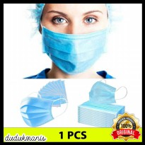 Maker Medis Bedah Filter Udara Anti Virus Corona 3Ply 3pcs HOB-347
