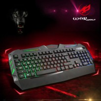 Keyboard Gaming Warwolf K3 RGB