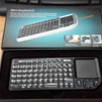 Mini Keyboard + Mouse Untuk Tablet, PC via Bluetooth