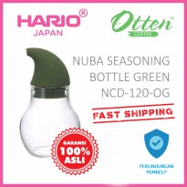 Hario Nuba Seasoning Bottle Olive Green NCD-120-OG
