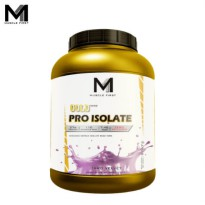 Muscle First Gold Pro Isolate 5 Lbs Taro Velvet - lb banana bubuk fit fitness gym M1 musclefirst protein supplement suplemen susu taro whey