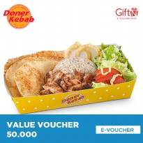 Doner Kebab - Value Voucher 50.000