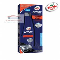 Turtle Wax ICE PREMIUM CARE Liquid Wax 414 Ml MADE IN USA - FREE LAP MICROFIBER TOWEL & BUSA APPLICATOR PAD - Cairan Poles Perawatan Eksterior Mobil