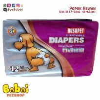 Popok Hewan Popok Anjing Dog Diapers Pet Diapers Size M