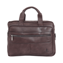 Briefcase Polo Classic 960-02-19 Brown