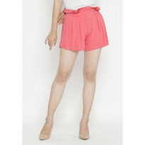 Mobile Power Ladies Short Pants - Pink OK30045