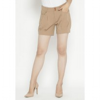 Mobile Power Ladies Short Pants - Brown OK30053