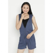 Mobile Power Ladies Jumpsuite - Blue OK30055