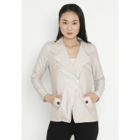 Mobile Power Ladies Blazer - Khaky OK40048