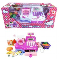 Mainan Kasir Intelligence Cash Register Hello Kitty