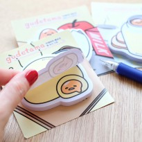 Gudetama Post it / Note It / Catatan Mini / Label Kertas Lucu Murah