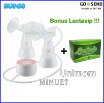 Unimom Minuet Bonus Lactasip, Double Electric Breastpump