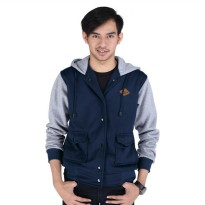 Sweater pria/sweater distro priaCatenzo NU 121 navy