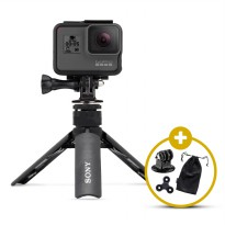 SONY SPA-MK20M Mini Tripod Smartphone Action Camera GoPro Brica Xiaomi Yi Free Spinner & Mount