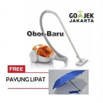 Philips Vacuum Cleaner Bagless - FC8085/01 Free Payung