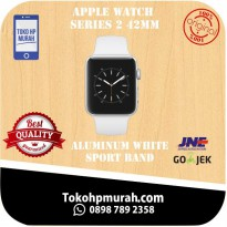 Apple Watch Series 2 Aluminum 42mm white Sport Band