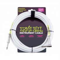 Ernie Ball 6047 Instrument Cable - Putih