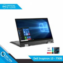 Dell Inspiron 7306 [Ci5-1135G7-8-512-UMA-W10-OHS-BLK] DELL OFFICIAL