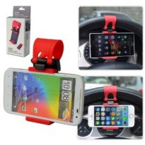 Car Steer Wheel Socket Holder Stir Mobil Lazypod Socket Phone Android